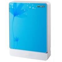 宁波清珠高强度蓝莲花玻璃面板纯水机