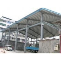 轻钢结构雨棚