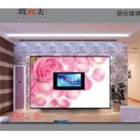 电视背景墙  玻莉美电视背景墙 玻璃电视背景墙