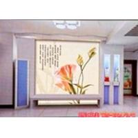 玻璃电视背景墙 电表箱装饰画 玻璃无框画