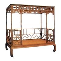 东阳木雕-南京仿古家具-华阳一品居-床