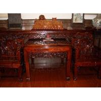 南京红木家具-东阳木雕-华阳一品居-桌椅13