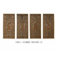 木雕挂件-天宫赐福