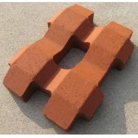 红色植草砖|艺陶陶土砖