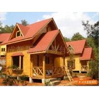 供应承建木结构别墅、木屋(北美风情)