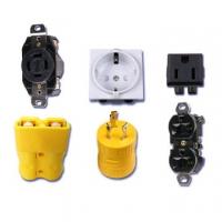 插头插座(防松,防水,工业),电源连接器,转换插座,端子,.