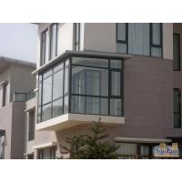 铝合金封阳台      塑钢门窗封阳台