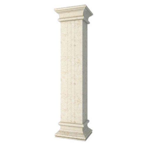 室外方柱子装饰效果图