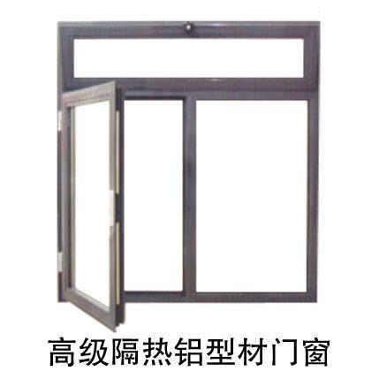 高级隔热铝型材门窗2