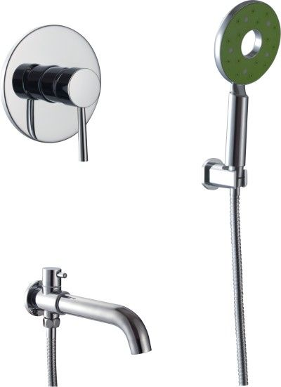 超实惠价暗装淋浴 全铜主体 全铜水龙头