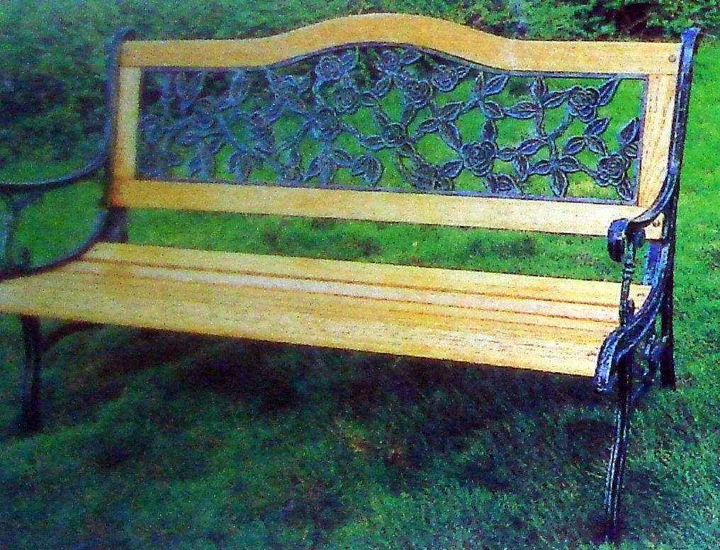 公园手绘凳子效果图