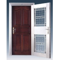 高级不锈钢防盗门