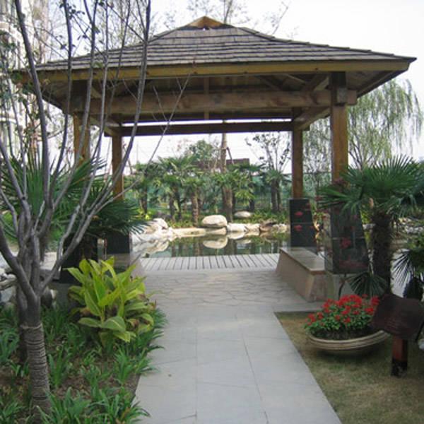 防腐木亭子丨陕西西安防腐木丨园林景观