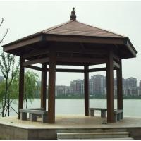 塑木凉亭|陕西西安防腐木|炭化木|户外木材保护油|木塑产品