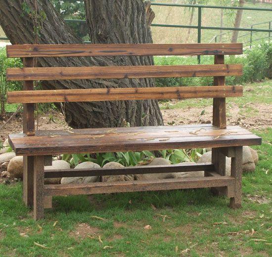 坐凳丨陕西西安防腐木丨园林景观