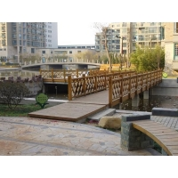防腐木地板|陕西西安宏艺达园林景观