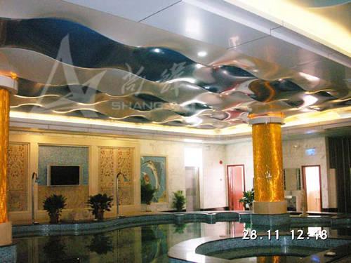 酒店软膜天花吊顶产品图片,酒店软膜天花吊顶产品相册 广州软膜天花