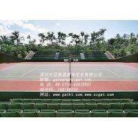 体育运动地板硅PU球场及硅PU地板施工