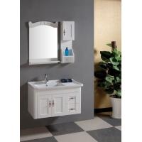 朗森特价PVC橡木浴柜 浴室柜 卫浴柜 吊柜 白色田园风0.