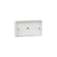 双联明装胶盒(供两个单联产品用)