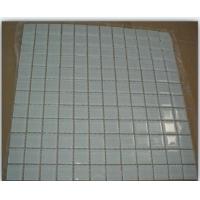 厂家低价促销23*23*4mm白色工程玻璃马赛克