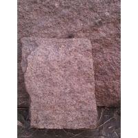 粉色砌筑毛石毛料 护坡石