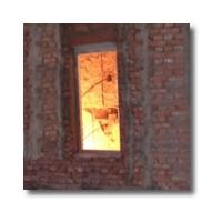 高强度单片铯钾防火玻璃