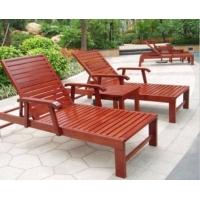 实木沙滩椅,木制躺椅,游泳池躺椅,户外沙滩床