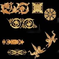 装饰构件,玻璃钢雕塑,人物雕塑,园林小品