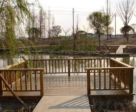 南京防腐木绿化-普天蓝木业