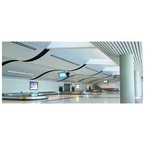南京金属天花板-阿姆斯壮金属天花板-F型条板系统