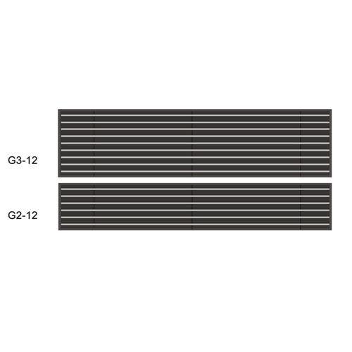 南京集成带-元光德无光槽集成带-格栅条式无光槽集成带