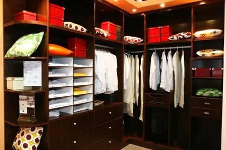 诗尼曼整体衣柜