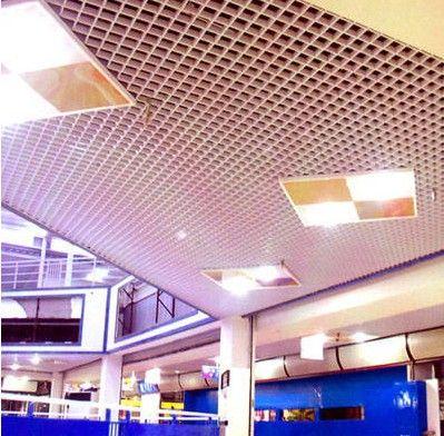 铝格栅天花吊顶铝天花板
