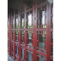 青島宏盾中式68復古門窗6