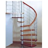 实木踏板旋转楼梯