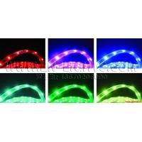 LED3258滴胶防水软灯带,60灯/米,DC12V,500