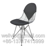 钻石椅-铁丝椅