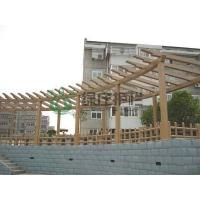仿木花架,亭棚廊架,小区绿化,园林绿化,景观设施