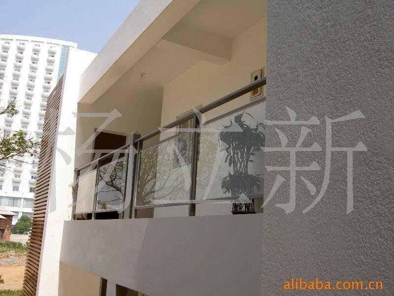 铝合金护栏扶手可做室内室外,阳台,落地窗扶手,楼梯扶手的首选材料.