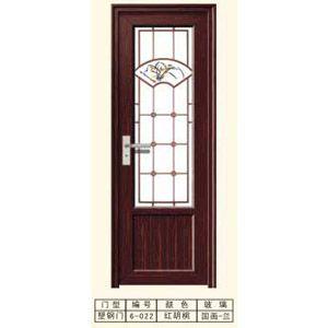 成都塑钢门6-022