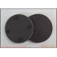 板岩文化石,天然黑色圆形餐垫