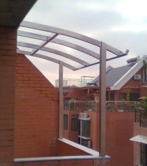 欧式铁艺雨棚图片