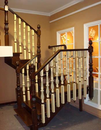 实木楼梯002
