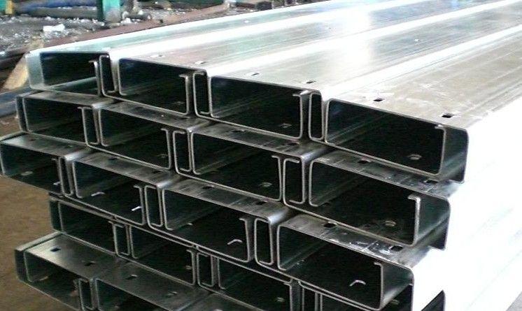 溫州Z型鋼噴漆Z型鋼打孔C型鋼檁條-- 天津冷彎