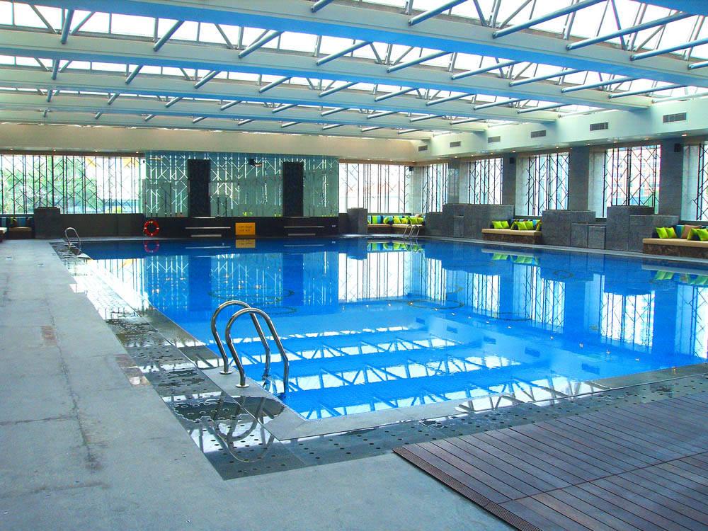 第29届奥运会青岛帆船赛奥运村游泳池