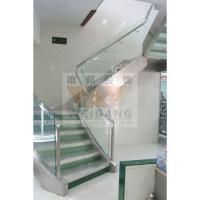 南京包不锈钢楼梯、玻璃护栏