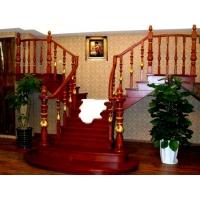 泰国橡木实木楼梯踏板护栏