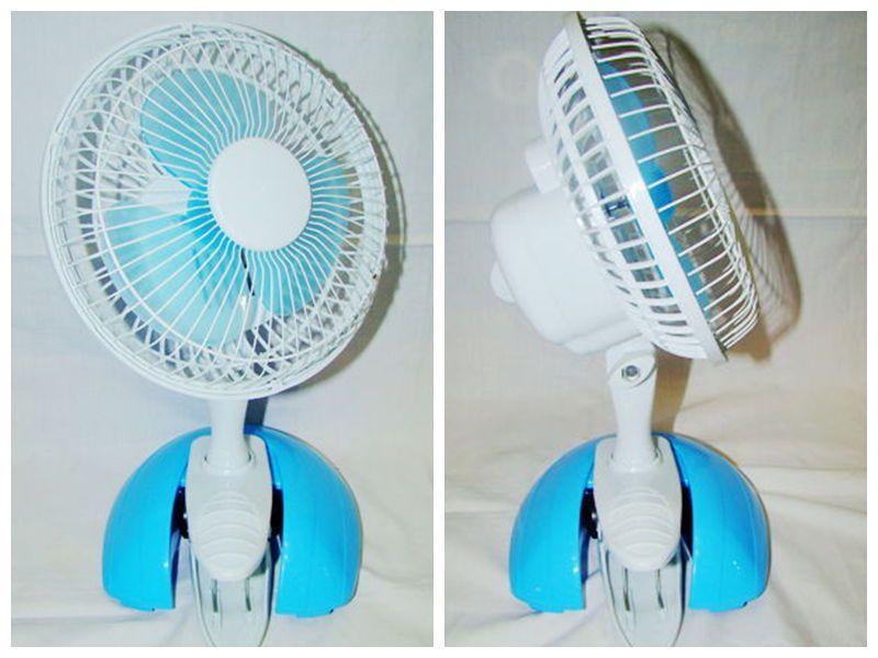 便攜式應急迷你電風扇 充電式臺夾電風扇-- 頤品