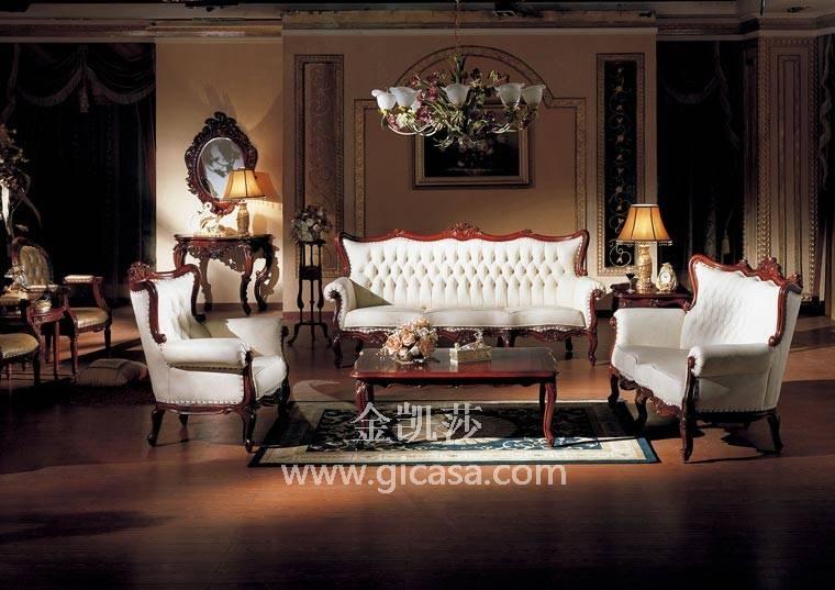 欧式客厅装修图片-简欧式家具-欧式家具-金凯莎欧式
